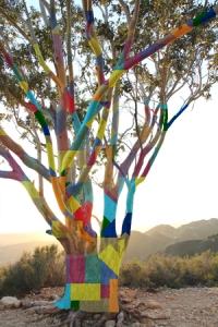 Artist's Rendering of the Yarn Bomb