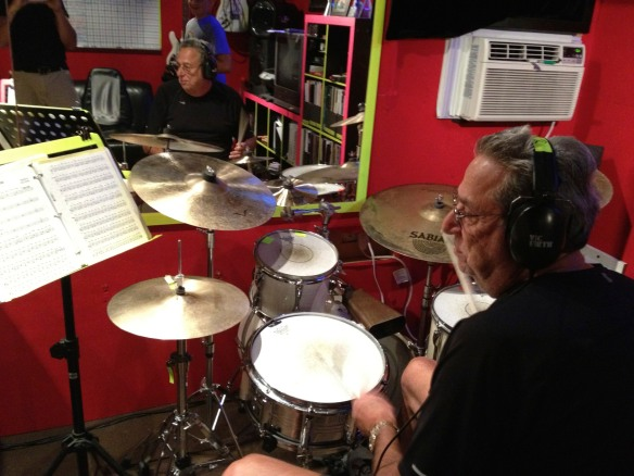 Grandpa Drumming
