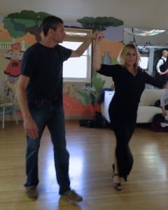 Dancing at Arthur Murray
